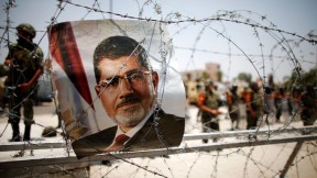 Morsi trapped by the army